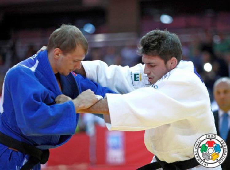 Marcelo Contini (73kg) fez quatro lutas na Alemanha - Foto: CBJ | Divulgação