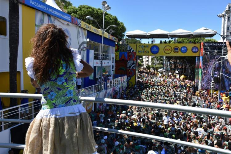 O bloco se apresentou na manhã deste sábado, 25, no Centro da cidade - Foto: Divulgação | Secom