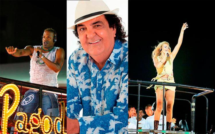 Pagodart, Paulinho Boca de Cantor e Márcia Freire são algumas das atrações deste sábado - Foto: Divulgação