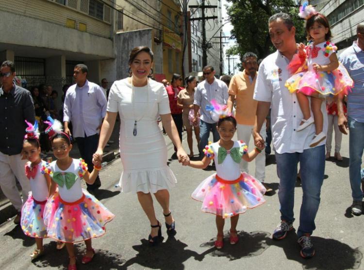 Governador chegou acompanhado da família - Foto: Manu Dias | GOVBA