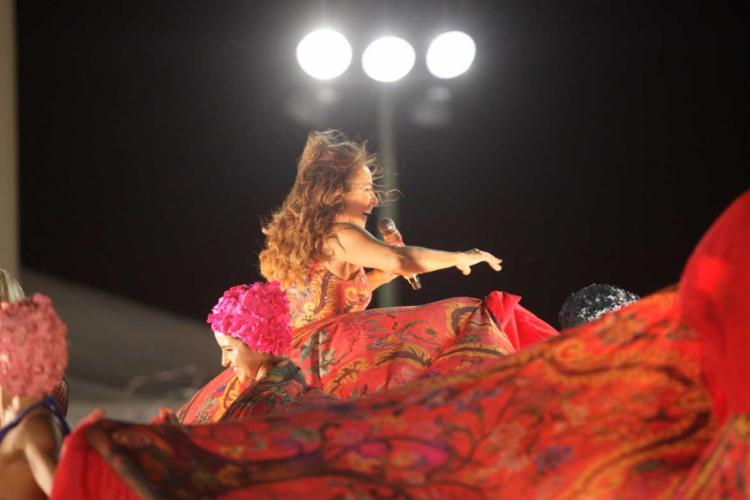 A Rainha do Axé disse esperar que a mensagem sobre empoderamento de gays, mulheres e negros seja ouvida - Foto: Lúcio Távora | Ag. A TARDE