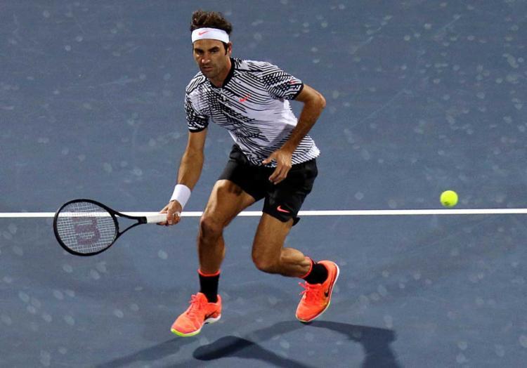 Agora, Federer aguarda para conhecer seu adversário nas oitavas de final - Foto: MAHMOUD KHALED / AFP