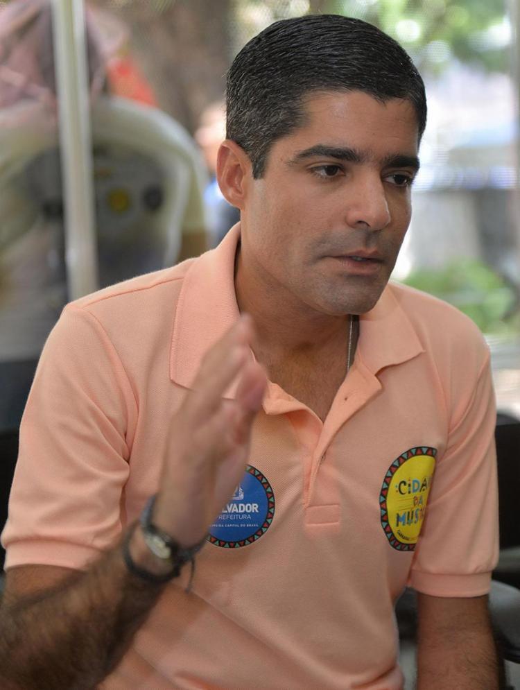 Prefeito de Salvador disse que há um esvaziamento muito grande no circuito do centro - Foto: Max Haack l Secom PMS