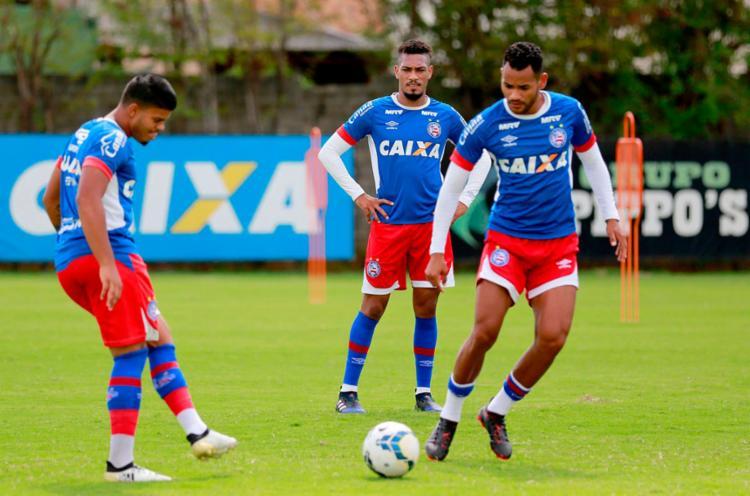 O time ganhou folga, mas volta às atividades - Foto: Felipe Oliveira | EC Bahia