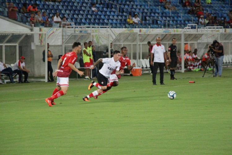 Com o empate no último jogo, Vitória teve a liderança ameaçada - Foto: Moysés Suzart | EC Vitória