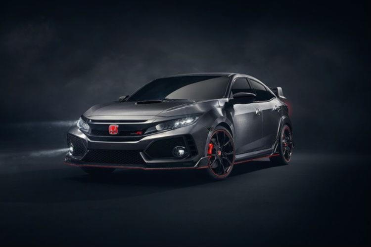 O novo Civic Type R é o destaque da Honda - Foto: Divulgação Honda