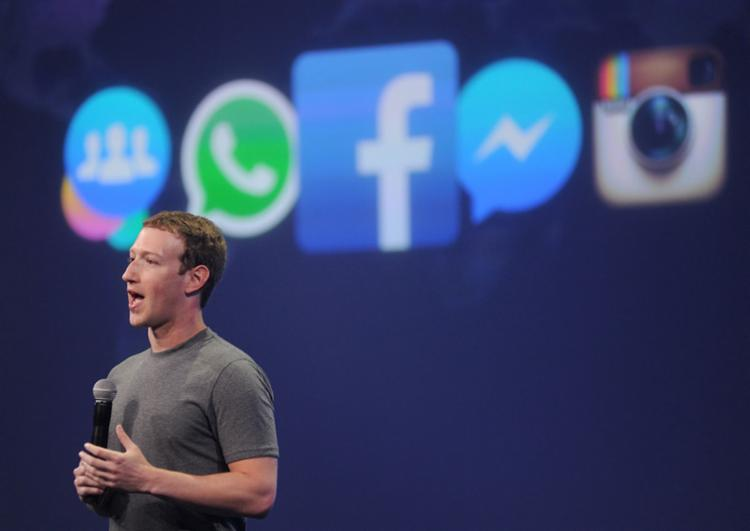 Mark Zuckerberg apresentou os números durante encontro em San Francisco - Foto: Josh Edelson | AFP