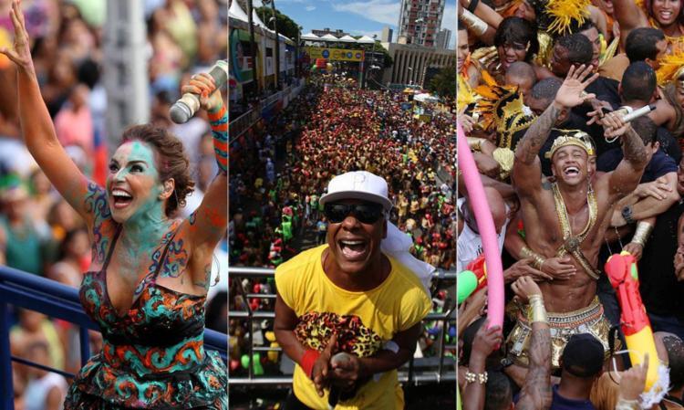 Daniela, Psirico e Léo Santana encerraram o Carnaval no Campo Grande - Foto: Raul Spinassé | Ag. A TARDE