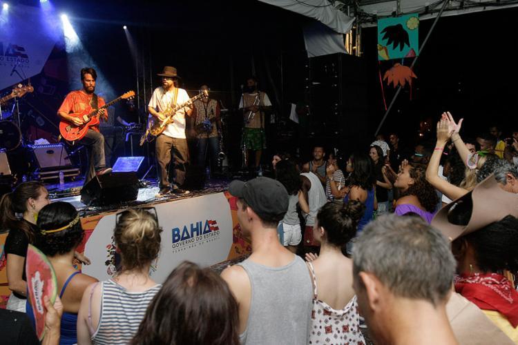 Ifá Afrobeat foi uma das atrações no Batatinha - Foto: Mila Cordeiro l Ag. A TARDE