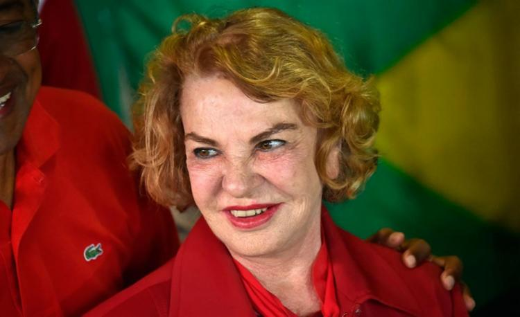 Dona Marisa Letícia morreu em decorrência de um AVC hemorrágico, aos 66 anos - Foto: Nelson Almeida | AFP