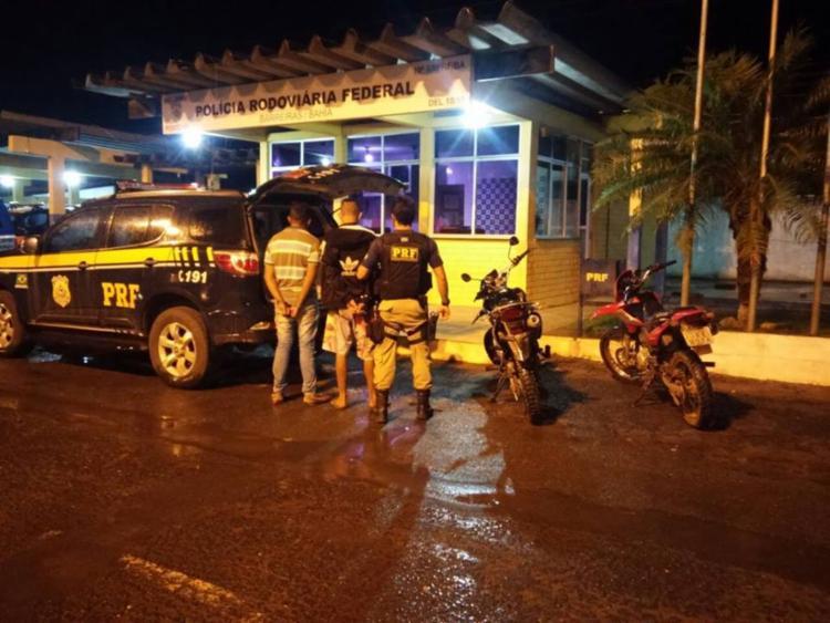 O flagrante aconteceu nesta quinta-feira, 2 - Foto: Divulgação | PRF