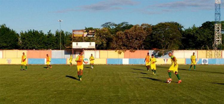 Touro do Sertão durante treino na cidade de Santo Estevão - Foto: Cristiano Alves l Ascom Fluminense de Feira