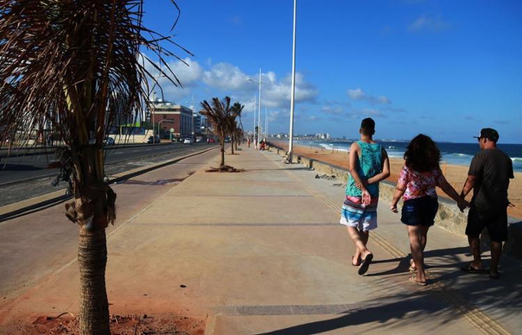 Praia de Armação está entre as não indicadas para banho - Foto: Joá Souza | Ag. A TARDE | 28.08.2015
