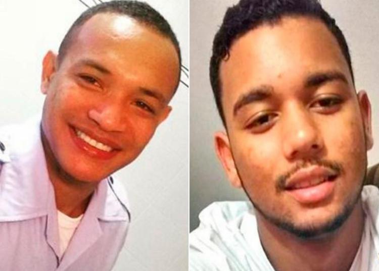 Os irmãos Vinícius e Victor Bispo são filhos de um policial civil - Foto: Reprodução   Radar 64