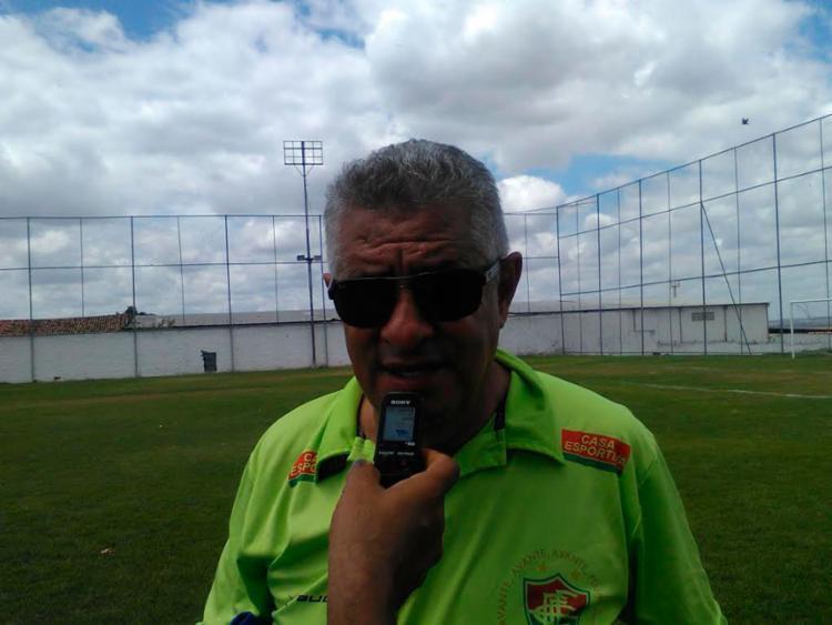 O técnico revelou que recebeu sondagem da Juazeirense - Foto: Fluminense de Feira FC | Divulgação