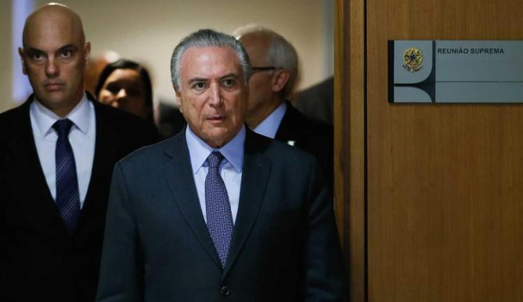 Com a indicação, Moraes é o nome do governo para substituir o ministro Teori Zavascki - Foto: Beto Barata/PR