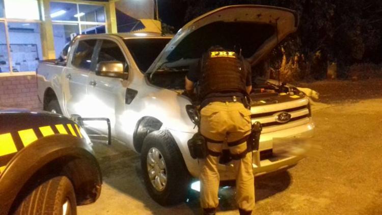 Homem foi preso pela Polícia Rodoviária Federal na BR-242 - Foto: Divulgação   PRF