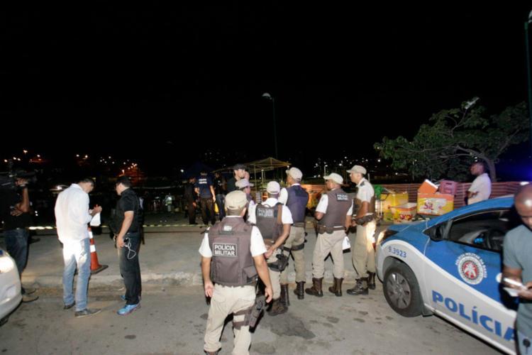 Seguranças foram mortos em um dos acessos para a festa no Estádio de Pituaçu - Foto: Margarida Neide   ag. A TARDE