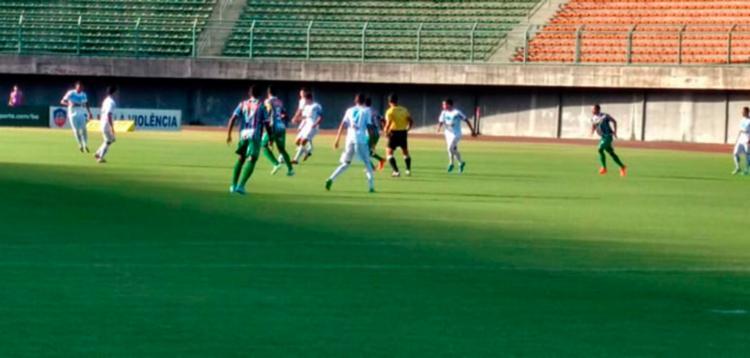 O Flu fará sua primeira partida em casa no Baianão - Foto: Fluiminense de Feira FC | Divulgação