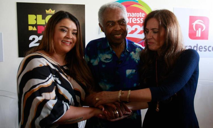 Preta Gil ao lado do pai, Gilberto Gil, e da madrasta Flora Gil - Foto: Lúcio Távora | Ag. A TARDE