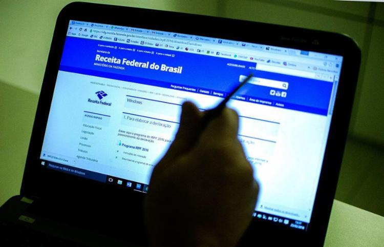 É possível verificar se sua declaração foi liberada no site da Receita - Foto: Marcelo Camargo | ABr