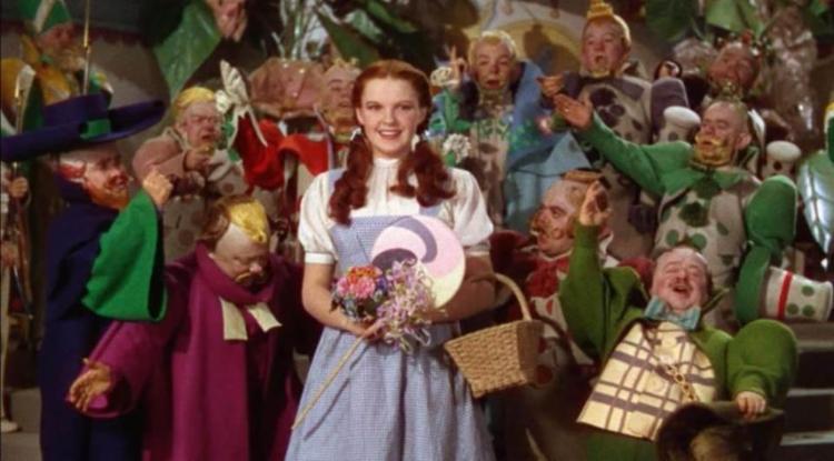 Cena de Judy Garland em