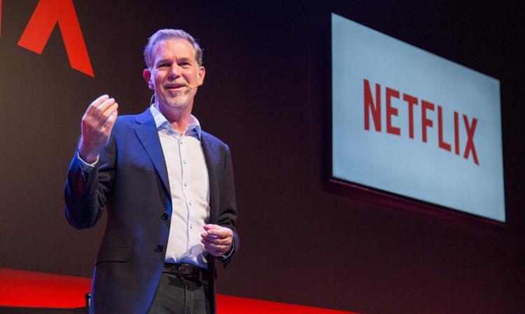 O CEO da Netflix anunciou ainda duas séries nacionais - Foto: Henrique Manreza | Netflix