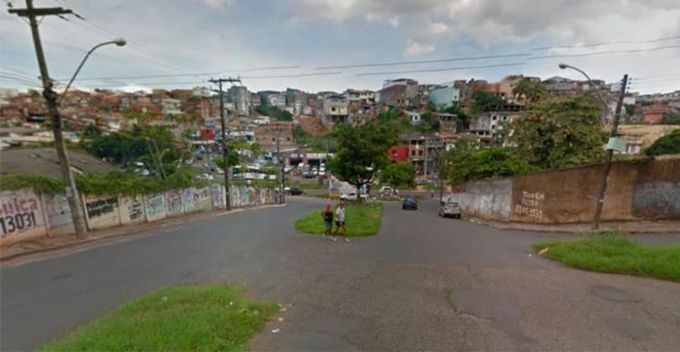 Crime aconteceu na rua Laura Catarino, sentido Sete Portas - Foto: Reprodução | Google Maps