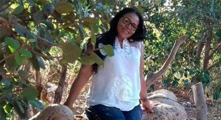 Luciane voltava do trabalho no momento do acidente - Foto: Reprodução   Blog Leo Barbosa