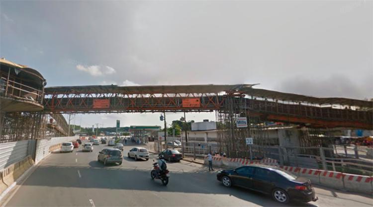 A agressão aconteceu na passarela que liga o shopping da Bahia à Rodoviária - Foto: Reprodução | Google Maps