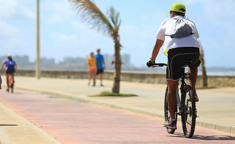 Servidor receberá um dia de folga por 15 dias indo de bicicleta - Foto: oá Souza / Ag. A TARDE