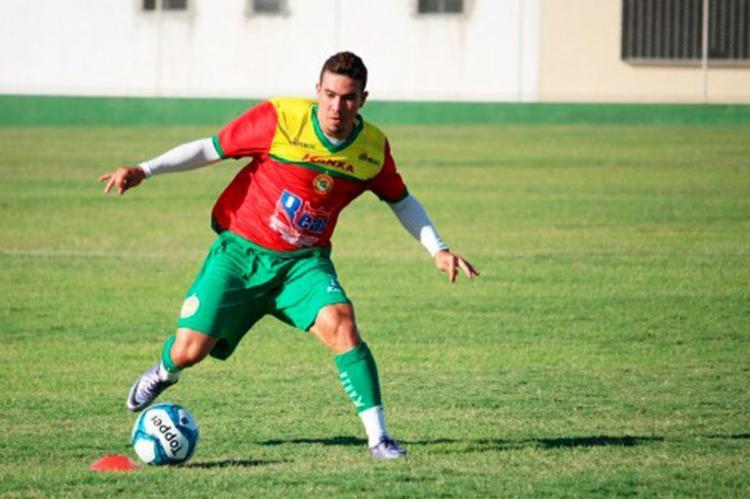 O time fez o gol da vitória aos 16 minutos do primeiro tempo - Foto: Juazeirense | Divulgação