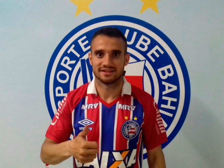 O jogador fica no Tricolor até o fim de 2017 - Foto: Divulgação