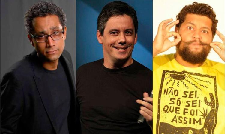Humoristas vão fazer espetáculos de stand up comedy - Foto: Divulgação