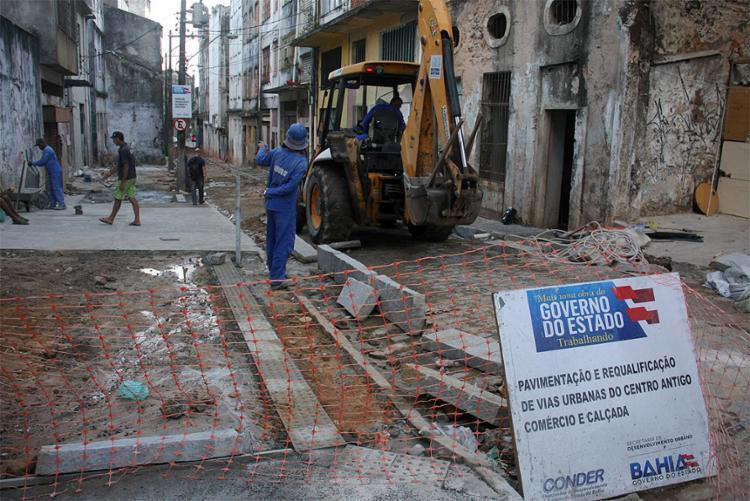 Estado aplicou no ano passado R$ 3,2 bi em obras e ações de infraestrutura e desenvolvimento social - Foto: Divulgação l Ascom Dircas l Conder