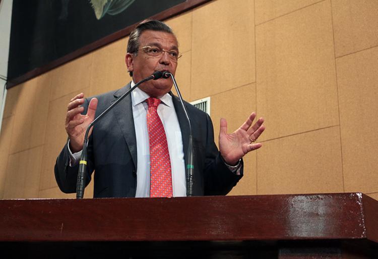 O deputado Targino Machado (PPS) fez duras críticas ao colega Ângelo Coronel (PSD) - Foto: Divulgação