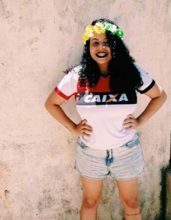 Rebeca Rocha caprichou no visual para curtir o Carnaval | Foto: Icaro Sousa | Cidadão Repórter