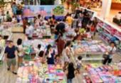 Feira oferece mais de 3 mil livros a partir de R$ 5,00 | Foto: