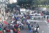 Caminhada interdita progressivamente o trânsito no Campo Grande | Foto: