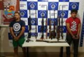 Armas apreendidas podem ter sido usadas em ataque a banco em Irecê | Foto: