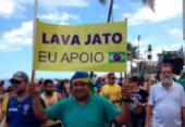 Grupo promove ato na Barra para apoiar a Lava Jato | Foto: