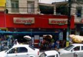 Loja de eletrodoméstico é alvo de assalto no bairro de São Caetano | Foto: