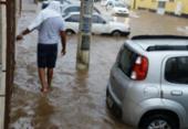 Chuva alaga vários pontos da capital baiana | Foto: