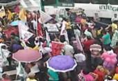Grupo reivindica moradia em protesto na ACM | Foto: