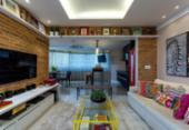 Móveis, cores e texturas diferenciadas dão estilo à casa | Foto: