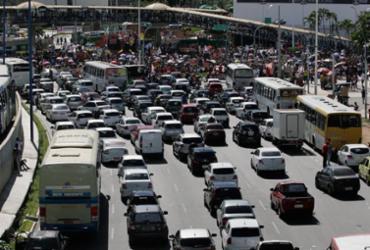 Salvador é a capital mais congestionada do Nordeste | Foto: Edilson Lima | Ag. A TARDE