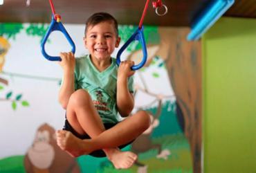A prática de esportes ajuda no desenvolvimento físico e psíquico | Foto: Raul Spinassé | Ag. A TARDE