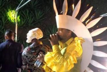 Brown encerra Carnaval com 'Arrastão da meia-noite'