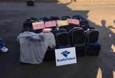 Mais de 500kg de cocaína são encontrados em carga no Porto de Salvador