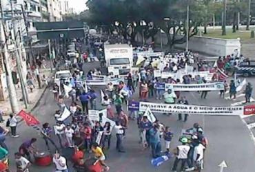 Caminhada interdita progressivamente o trânsito no Campo Grande